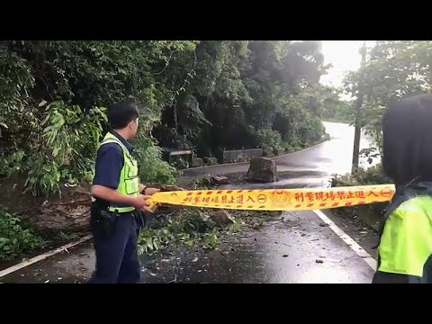 Erdbeben der Stärke 6,0 in Taiwan verursacht erheblic ...