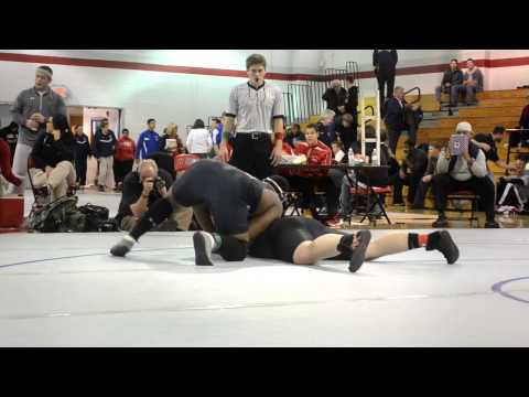 Wrestling WCAC Tournament 2/2/2013