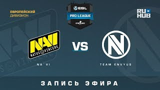 Na`Vi vs Team EnVyUs - ESL Pro League S7 EU - de_train [CrystalMay, Smile]