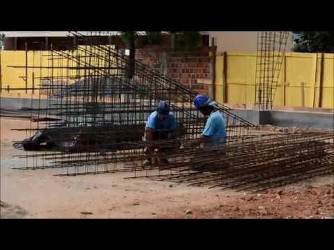 Construção da Quadra Poliesportiva em Alpercata