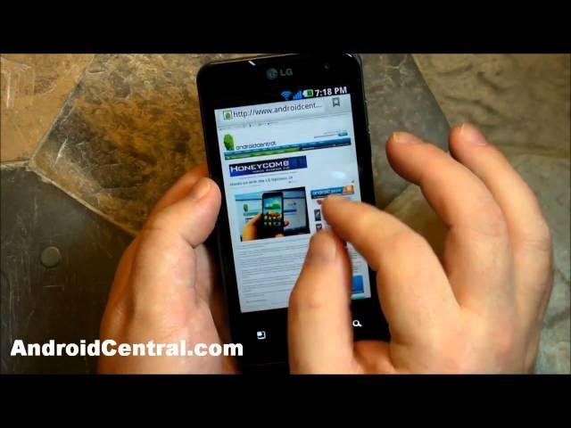 LG Optimus 2X hands-on