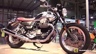 6. 2017 Moto Guzzi V7 III Anniversario - Walkaround - 2016 EICMA Milan
