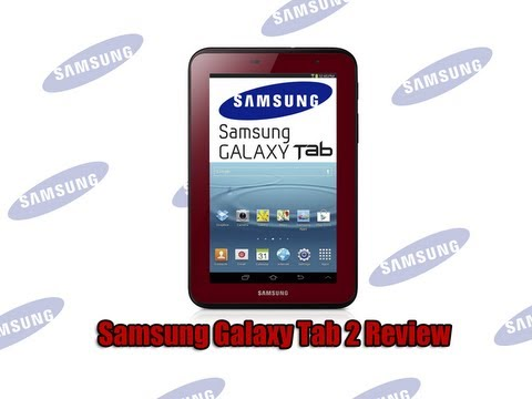 Samsung Galaxy Tab 2 7 Inch 8GB Review