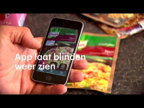 App laat blinden weer 'zien': 'Ik ben nu zelfstandiger'- RTL NIEUWS