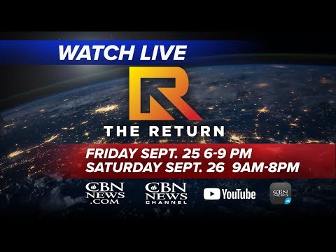 WATCH LIVE: The Return - National and Global Day of Prayer and Repentance | Saturday, Sept. 26, 2020