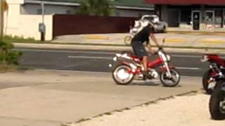 8. 2011 Sachs MADASS 125 Ultimate wheelie machine!