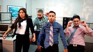 Office Dance Battle | Anwar Jibawi