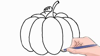Easy step by step tutorial on how to draw a pumpkin, pause the video at every step to follow the steps carefully. Enjoy ;)- Facebook: https://www.facebook.com/HowtoDrawSimply