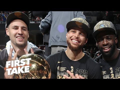 Video: Steph, Klay and Draymond are the best Big 3 in the NBA - Max Kellerman | First Take
