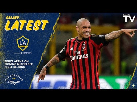 Video: Bruce Arena on Nigel De Jong:
