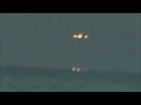Increible Ovni | Osni sale del mar en Buenos Aires Argentina 14/1/14 UFO sightings real