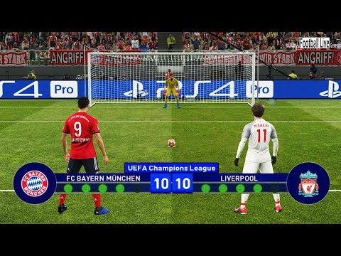 PES 2019 | Bayern Munich Vs Liverpool | UEFA Champions League (UCL) | Penalty Shootout | Gameplay PC