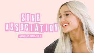 Video Ariana Grande Premieres a New Song from Sweetener in a Game of Song Association | ELLE download in MP3, 3GP, MP4, WEBM, AVI, FLV January 2017