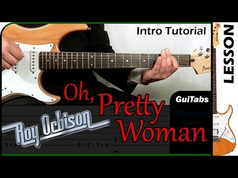 How To Play Pretty Woman Intro - Roy Orbison 😎 / Guitar Tutorial 🎸