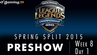 LCS NA Spring 2015 - W8D1 - Preshow