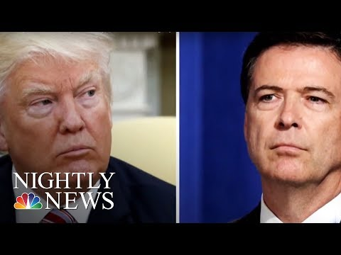President Donald Trump Hits At James Comey In Sunday Tweets | NBC Nightly News