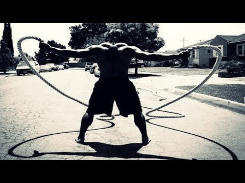 18min Battle Rope Workout Routine