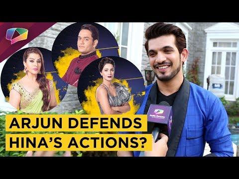 Arjun Bijlani Believes Hina Is A GUTSY Girl | Sees