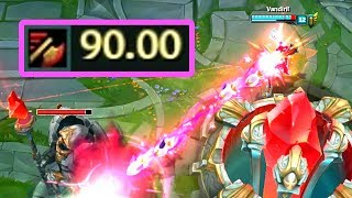 90.00 ATTACK SPEED JINX! Maximum Attack Speed in League of Legends!