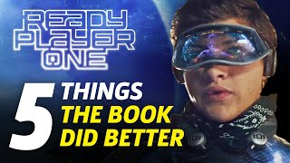 Video Ready Player One: 5 Major Things The Book Did Better MP3, 3GP, MP4, WEBM, AVI, FLV Juli 2018