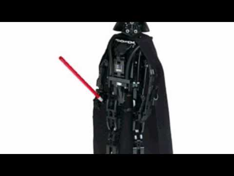 Video New YouTube  video for the Technic Star Wars Darth Vader