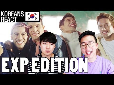 EXP EDITION - FEEL LIKE THIS Korean Reaction! (First Non Korean KPOP Group!)