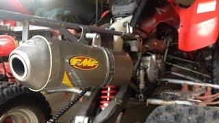 9. Honda 400EX FMF Powercore 4-First start