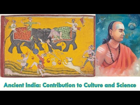 Ancient India Contribution to Culture and Science  6th Standard