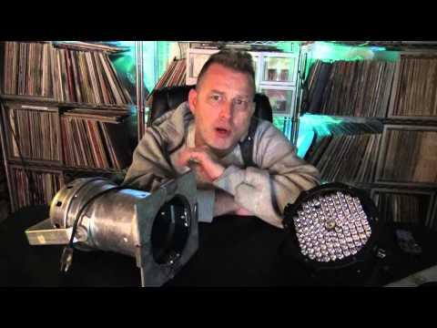 DJ Lighting - Halogen Vs LED Par Fixtures