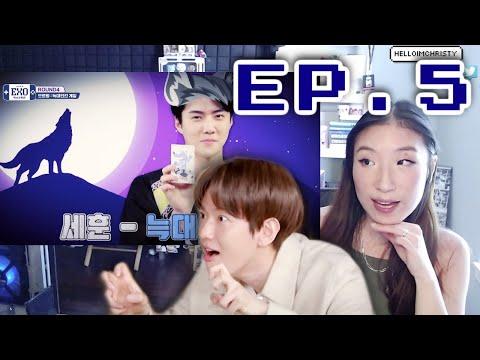 EXO Arcade Season 2 [엑소오락관 시즌2ㅣEP.05] The 4th ROUND! Werewolf Game 🐺 Reaction