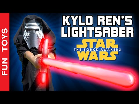 Kylo Ren's Lightsaber Toy - Star Wars: The Force Awakens and other Lightsabers - Brinquedos Juguetes:  In this video we show and play with the lightsaber of Kylo Ren, the villain of the new movie Star Wars: The Force Awakens, the lightsaber of Jedi Master Qui-Go Jinn, the double lightsaber of Darth Maul and the one of the famous master jedi Obi Wan Kenobi.The new lightsaber, is part of a series of saber toys called Blade Builders from Hasbro. Fans can purchase many parts and a kit to assemble, connect and create lightsabers of the most different ways.At the end, we invite you to watch a small light saber battle. Have fun!And you, have you watched the new Star Wars: Episode VII movie? Which lightsaber video you like best? Comment below!Buy Lightsabers here: http://bit.ly/LightSabersor Buy other Star Wars Toys here: http://bit.ly/StarWars-ToysThanks for watching! Please, like and share the video, and don't forget to subscribe to the channel: http://www.youtube.com/funtoysbrinquedosvideos/videos?sub_confirmation=1 ✦PORTUGUÊS:Neste vídeo iremos mostrar o sabre de luz do Kylo Ren, o vilão do novo filme Star Wars: O Despertar da Força, o sabre de luz do mestre Jedi Qui-Go Jinn, o sabre de luz do Darth Maul e o do famoso mestre jedi Obi Wan Kenobi.O novo sabre de luz, faz parte de uma série de sabres chamado de Blade Builders, da Hasbro. É possível adquirir diversas partes e um kit para montar, conectar e criar sabres de luz das formas mais diferentes.E convidamos vocês para assistirem no final do vídeo a uma pequena batalha. Divirta-se! E você, já viu o novo filme Star Wars Episódio VII? Qual sabre de luz você mais gostou do vídeo? Comente aí embaixo!Compre Sabres de Luz aqui: http://bit.ly/LightSabersou Compre outros brinquedos de Star Wars aqui: http://bit.ly/StarWars-ToysObrigado por assistir! Não se esqueça de dar um JOINHA no vídeo, COMPARTILHAR com os amigos e se INSCREVER no nosso canal: http://www.youtube.com/funtoysbrinquedosvideos/videos?sub_confirmation=1FOLLOW US / SIGA-NOS: 😀 😅 😉 😍 😗 😜 😎✦Subscribe: http://www.youtube.com/channel/UCVOq9DX3BL9bBU9FrG5MpMA?sub_confirmation=1✦Twitter: http://twitter.com/FunToysBrinque✦Google+: http://goo.gl/QVmgp0✦Instagram: http://instagram.com/fun_toys_brinquedos/✦Blog: http://festadeideias.com.br/Fun_Toys_Brinquedos/✦Facebook: http://www.facebook.com/Fun.Toys.Brinquedos.YT✦BONUS:- Look how cool