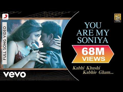 Video K3G - You Are My Soniya   Kareena Kapoor, Hrithik Roshan download in MP3, 3GP, MP4, WEBM, AVI, FLV January 2017