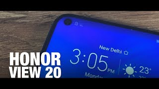 Honor View 20: First Phone With Hole-Punch Display | First Look & Impressions | ETPanache
