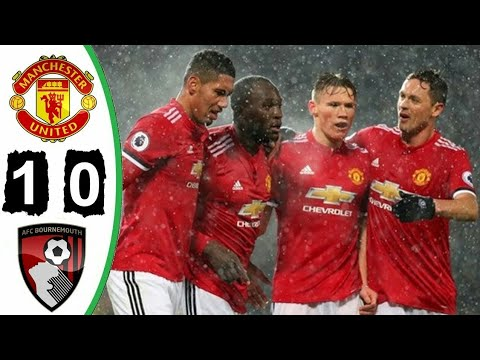 Manchester United vs Bournemouth 1-0 ◆ All goals and highlights ◆ 13/12/17 ◆ HD ◆