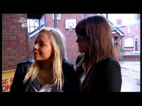 Brooke & Sacha (Coronation Street)  This Morning Interview (24th August 2010)