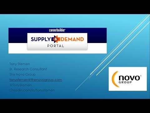CareerBuilder: Supply & Demand Portal Overview