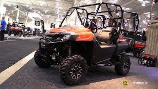 8. 2018 Honda Pioneer 700 4 Utility ATV -  Walkaround - 2017 Toronto Snowmobile ATV Show