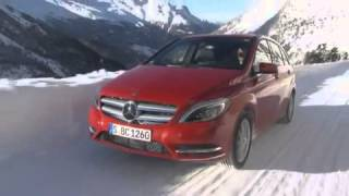Hochgurgl Austria  city photos : Mercedes-Benz B220 4Matic at Hochgurgl Austria Winter Test Drive