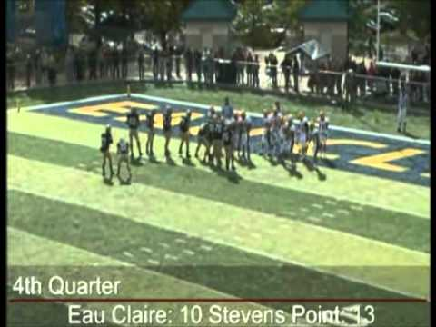 10/2/2010 - Football Highlights vs. UW-Stevens Point
