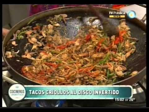 Tacos criollos al disco invertido Parte 2