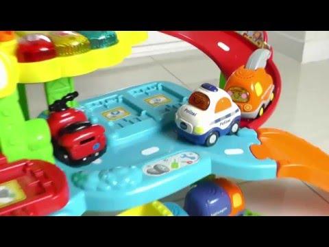 Trickfilm über Autos, Cars, Vtech, Spielzeuge Video