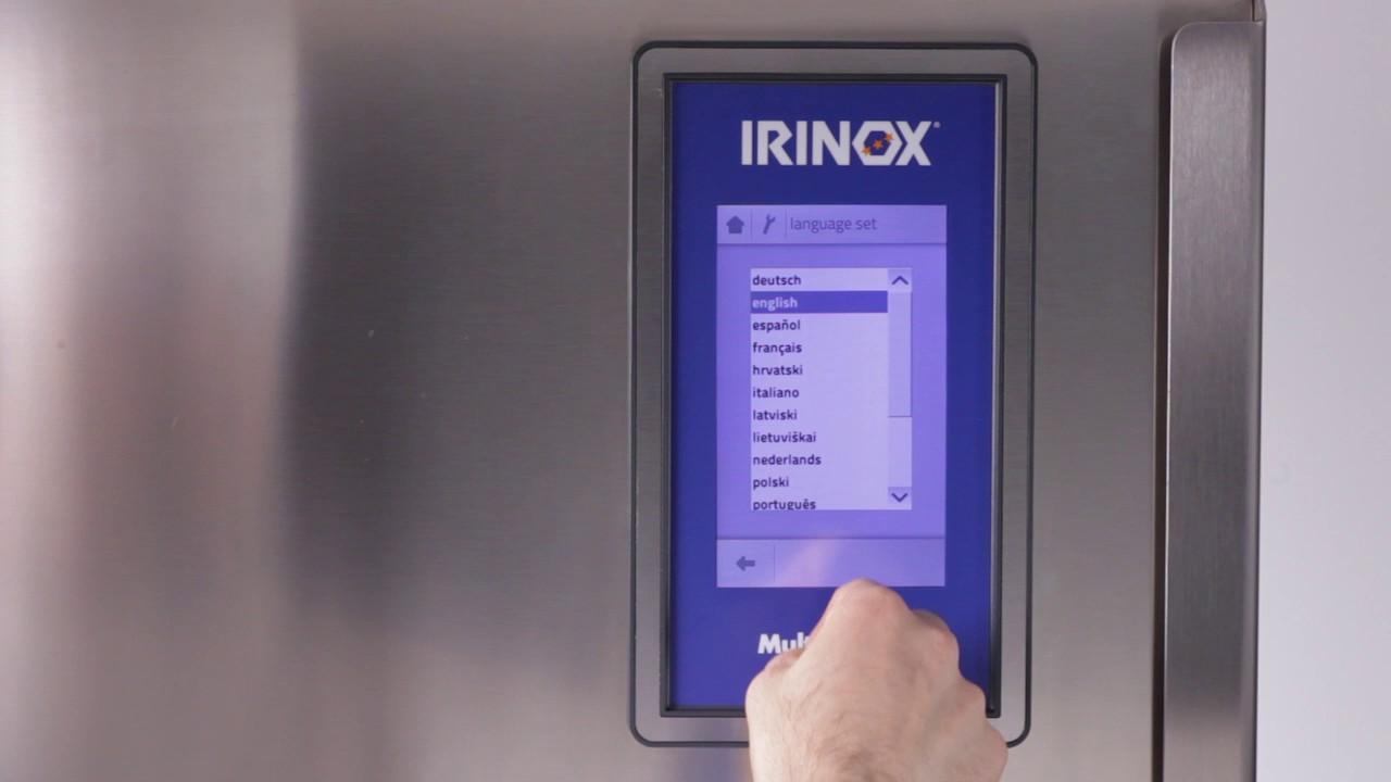 Irinox Multifresh MYA Tutorial - 15 Erste Verwendung von MF
