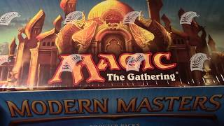 MTG Modern Masters 2013 Whole Box opening! Time for Craziness!!!Nerdy Auctions channel https://www.youtube.com/channel/UC-82gAH96ihCB-jvTONjTQgNew gaming channelhttps://www.youtube.com/channel/UClbZtAMqTk_hPLJmGRx1MTgIf you would like the playmat here is the link!http://www.inkedgaming.com/products/openboosters-playmat***************************************Need Boosters like you see on my channel?I don't sell packs but Vintage Magic does!Tell them Openboosters sent you!http://www.vintagemagic.com/Here are Vintage Magic channels and linkshttp://www.facebook.com/vintagemtghttp://www.twitter.com/vintagemtghttp://www.instagram.com/vintagemtghttp://www.youtube.com/gradedmagiccardshttp://www.pinterest.com/vintagemtg
