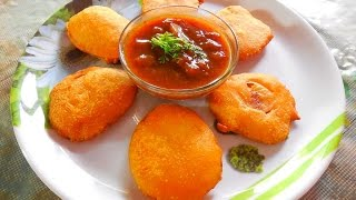 Crispy Batata Puri-Indian Fast Food Recipe-Every Day Special-Episode 9