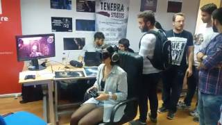 EVERYONE visited Tenebra Studios' booth to try out its games