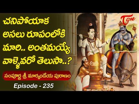 Markandeya Puranam #235 | అసలు రూపంలోకి మారి అంతమయ్య�