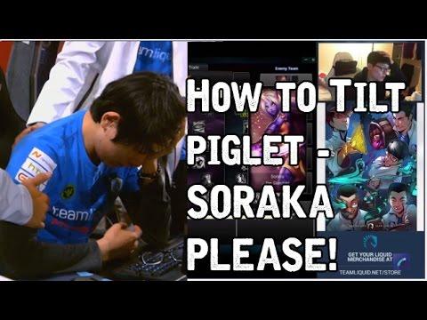 職業選手 Piglet 點天賦 vs 索拉卡..