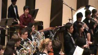 Percussionist Tomoya Aomori performs the 3rd Movement of Joseph Schwantner's Percussion Concerto with the Metropolitan Youth Orchestra of New York at ...
