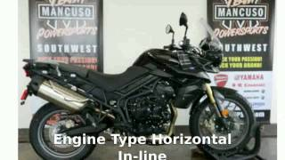 2. 2012 Triumph Tiger 800 ABS Features and Specification