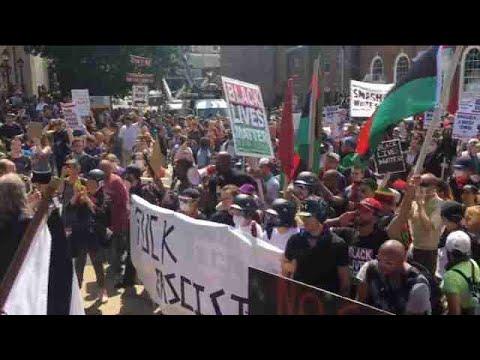 Un muerto y numerosos heridos en la violenta marcha supremacista en EEUU